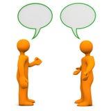 Dyskusja royalty ilustracja