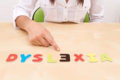 Dyslexi Arkivfoton