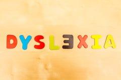 Dyslexi Arkivbilder