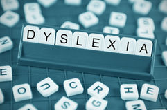 Dyslexia Royalty Free Stock Photos