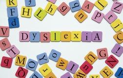 dyslexia Imagen de archivo libre de regalías