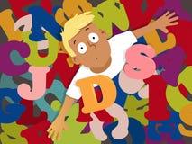 dyslexia ilustração do vetor