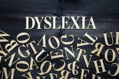 Dyslexia concept Royalty Free Stock Photos