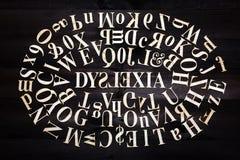 Dyslexia concept Stock Images