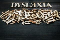Dyslexia concept Stock Photo