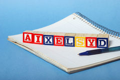 Dyslexia Difficulties royalty free stock photos
