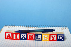Dyslexia Difficulties Stock Photos