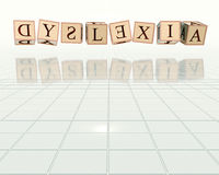 Dyslexia Royalty Free Stock Photo