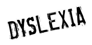 Dyslexia rubber stamp Stock Images