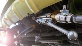 Dysor fyller LPG-gas för bilar Royaltyfri Bild