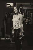 Dysponowana kobieta Pracująca Z czajnikiem Bell Out Zdjęcie Royalty Free