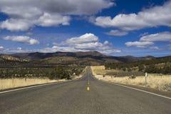 dystansowa autostrada Zdjęcie Stock