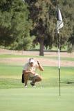 dystansowy target1313_0_ golfista Obraz Royalty Free
