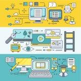 Dystansowy uczenie i edukacja ilustracji