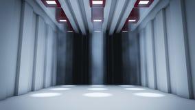 Dyster korridor vektor illustrationer