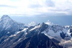 Dystert berglandskap Royaltyfria Bilder