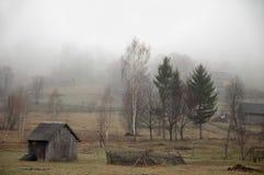 Dystert väder i landet. Royaltyfria Foton