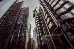 Free Dystopian Metropolis. Film Noir Gothic Style Industrial Architecture Landscape Image Stock Photo - 186520560