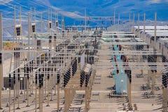 dystrybuci podstacja energetyczna Zdjęcie Stock