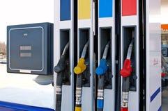 dystrybutor paliwowa Zdjęcia Stock