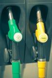 Dystrybutory paliwowa Obrazy Stock