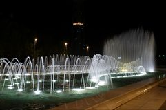 dywanów fontanny muzeum blisko zdjęcie stock