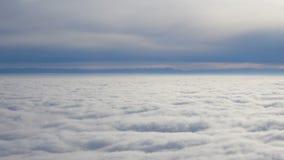 Dywan chmury duża wysokość zdjęcie wideo