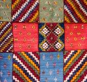 Dywan granicy ramy marokańczyka dywan fotografia royalty free