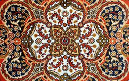 Dywan - kilim obraz stock