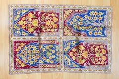 Dywan na podłoga Fotografia Stock