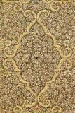 Dywan od wełny i jedwabiu klasyczny projekt zdjęcia royalty free