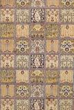 Dywan od wełny i jedwabiu klasyczny projekt obraz stock