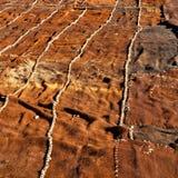 dywan w dolinnym Morocco Africa atlant sucha góra util Fotografia Royalty Free