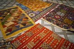 Dywan w Maroko zdjęcie royalty free