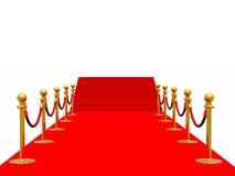 dywanowa czerwień royalty ilustracja