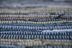 dywanowa kolorowa tekstura Tło andalusian dywan Jarapa Obraz Stock