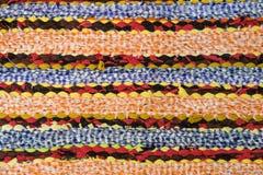 Dywanowa tekstura robić przetwarza kawałek tkanina zdjęcie stock