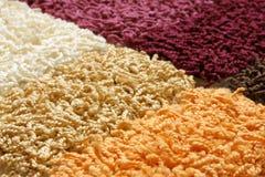 dywanowe inkasowe próbki Fotografia Stock