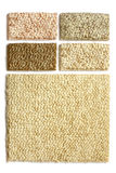 dywanowe inkasowe próbki Fotografia Royalty Free