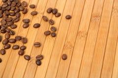 dywanowe ziarna kawy obraz stock