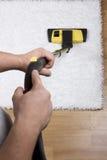 dywanowy cleaning Obrazy Stock