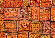 dywanowy indyjski patchwork Obraz Royalty Free