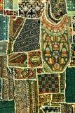 dywanowy indyjski patchwork Zdjęcia Royalty Free