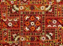 dywanowy indyjski patchwork Zdjęcie Stock