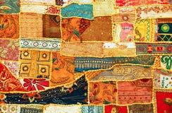 dywanowy indyjski patchwork Obrazy Stock