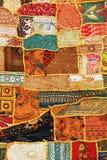 dywanowy indyjski patchwork Zdjęcie Royalty Free