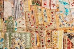 dywanowy indyjski patchwork Fotografia Stock
