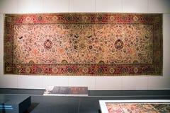 Dywanowy pokój w Islamskiej sztuce przy Pergamon muzeum Berlin, Niemcy, - Zdjęcia Royalty Free