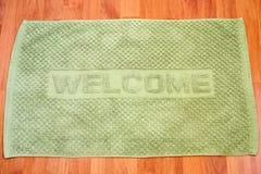 dywanowy powitanie Fotografia Stock