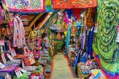 Dywanowy sklep przy Camden rynkiem, Londyn, UK Zdjęcie Stock